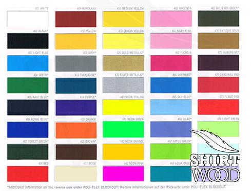 Flexdruck Farben