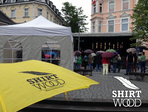 Bedruckter Schirm in Wermelskirchen